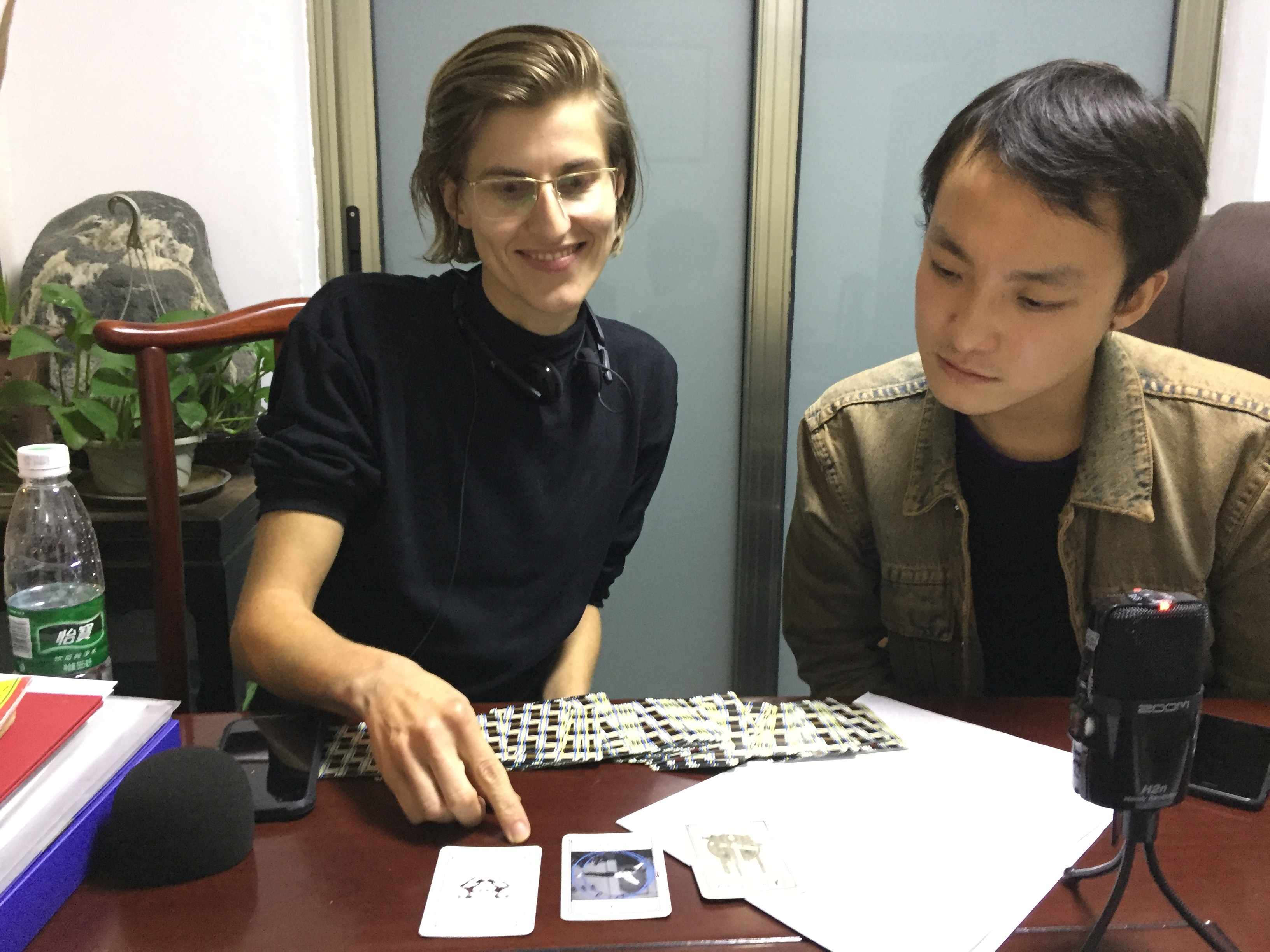 德国艺术家专访杨懿人老师
